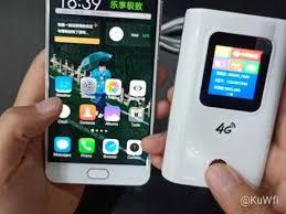 <b>KuWFi 4G LTE Wireless 4G Wifi Router</b> 5200mAH Power Bank <b>Wi-fi</b> ...