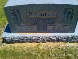 grave site of daniel fenton harding billiongraves headstone image of daniel fenton harding