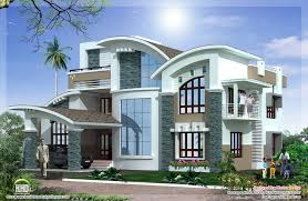 Modern House Exterior Color Design Modern House - Black window frames for new modern exterior