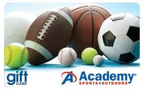 Academy Sports Gift Card   Academy