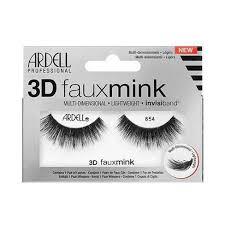 Ardell <b>Eyelashes 3D</b> Faux Mink 854 <b>Lash</b> - <b>1 Pair</b> : Target