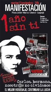 Una manifestación recordará el asesinato del antifascista Carlos Palomino - 1226322755_0