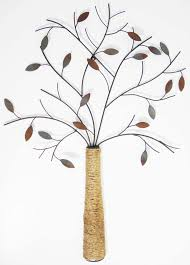 tree scene metal wall art: metal wall art autumn rope tree