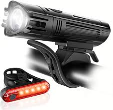 Ascher Ultra Bright USB Rechargeable Bike Light Set ... - Amazon.com