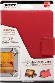 """<b>Чехол PORT Designs</b> планшет 7"""" Muskoka универсальный кожа red"""