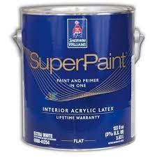 <b>Sherwin</b>-<b>Williams SuperPaint Interior</b> Flat <b>Краска</b> для стен и ...