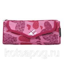 """<b>Пенал</b>-<b>косметичка BRAUBERG</b>, полиэстер, розовый, """"<b>Каприз</b> ..."""