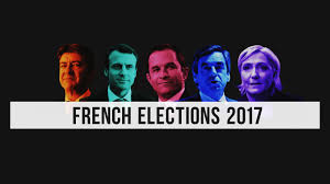 Image result for French election 2017: voters go to the polls in wide-open contest