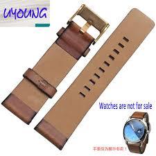 Youyang обычный кожаный ремешок для <b>часов</b> адаптер <b>DZ1399</b> ...
