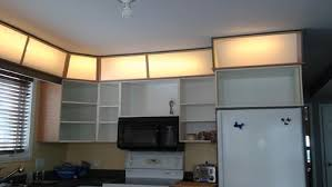 lighting above kitchen cabinets above cabinet lighting