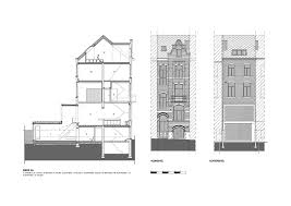 Terraced House Renovation Heverlee Belgium by Volt architecten    Terraced House Renovation Heverlee Belgium by Volt architecten Plan