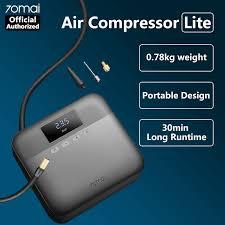 70mai Air Compressor Lite 12V Mini Car <b>Electric Air Pump Smart</b> ...
