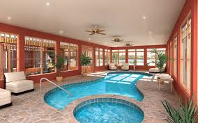 Indoor Swimming Pools   House Plans and Moreluxury indoor swimming pool
