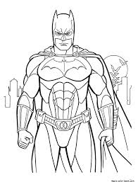 Small Picture Superheroes free online color pages for kids magic color book