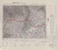 central europe ams topographic maps perry casta ntilde eda map kosice