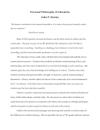 educational philosophy essay writing personal philosophy of education essays general english essays