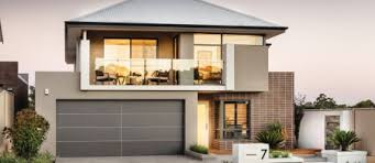 Home Builders  Display Homes  amp  Designs Perth   apg Homesview home design  middot  Sentosa Double Storey Display Home Elevation