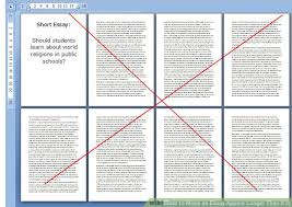 how to make an essay appear longer than it is with examples image titled make an essay appear longer than it is step