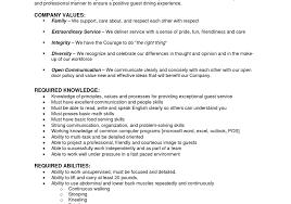 cover letter template sample resume server position fair restaurant server resume job description sample resume for restaurant server sample resume