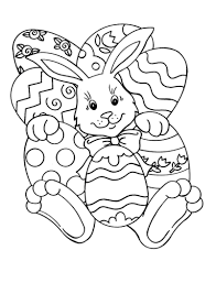 Small Picture Easter Bunny Coloring Pages Basket Easter Coloring Pages Eggs