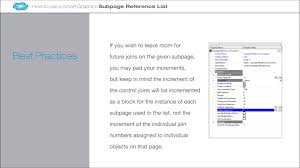 smart graphics subpage reference list demo on vimeo smart graphics subpage reference list demo