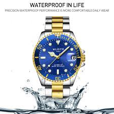 <b>WLISTH Men's Automatic Mechanical</b> Analog Watch 1008 | Shopee ...
