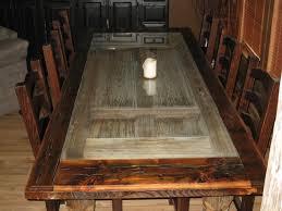 Custom Wood Dining Room Tables Live Edge Reclaimed Tamarind Wood Custom Dining Table Eclectic