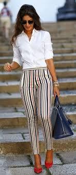 В 2017 в тренде различные полосатые брюки. Обсуждение на ...