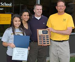 st louis river quest adventures captured in winning essays and  marina melby marshall school won first place in the essay contest benjamin emmel st james catholic school was runner up marina is pictured here with