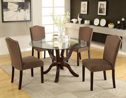 Round Glass Dining Room Table Decorate Dining Room Table And Chair Furniture Sets Ideasjpg