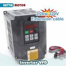 Online Shop <b>DE free VAT</b> 2.2KW Variable Frequency Drive VFD ...