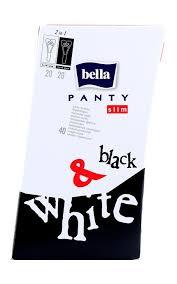 <b>Прокладки BELLA Panty slim</b> black&white ежедневные супертонкие