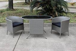 Купить <b>комплект плетёный</b> мебели <b>Комплект обеденный</b> HELSINKI