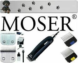 <b>MOSER</b> 1245 <b>MAX</b> 45 Clipper & 3 Shaving Heads 1MM,7MM,9MM ...