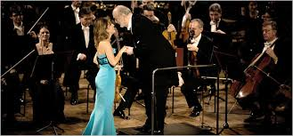 The Violinist <b>Anne</b>-<b>Sophie Mutter</b>, the Conductor Kurt Masur and ...