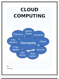 cloud computing essay cloud computing