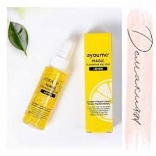 <b>Гель</b>-<b>мист для лица очищающий</b> с лимоном / Ayoume Magic ...