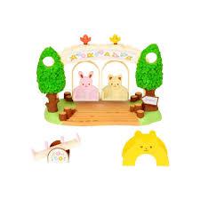 <b>Игровой набор Sylvanian Families</b> Детская площадка с качелями ...