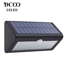 Купить товар Dcoo <b>солнечные</b> лампы 38 светодиодов <b>солнечные</b> ...