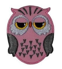 Cute <b>Owl Cartoon</b> DIY <b>Applique</b> Embroidered Sew Iron on <b>Patch</b> OW ...