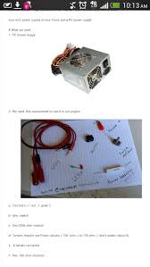 Instructable - 0 -24 Volt Adjustable <b>Power Supply</b> How To ...