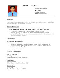 formal resume format template formal resume format