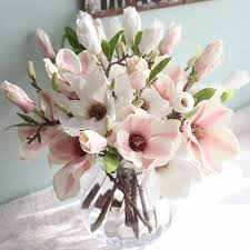 <b>Artificial Fake Western Rose</b> Flower Peony Bridal Bouquet Home ...