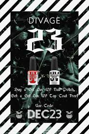 THE <b>DIVAGE</b> ADVENT CALENDAR - 23rd December | <b>Uv nail</b> ...