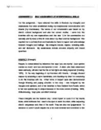personal strengths and weaknesses essay personal strengths essay   write my research paper