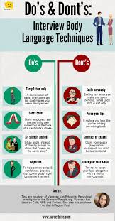 interview tips for that dream job interview body language infographic