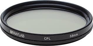 Фильтр поляризационный RayLab CPL <b>58mm</b> недорого на ...