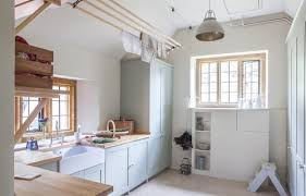 baillie scott arts crafts house the cotswolds beach style laundry room