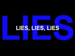 Image result for lies lies lies