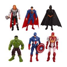 <b>6Pcs</b>/<b>set Marvel Avengers</b> Infinity War Spiderman <b>Iron</b> Man ...